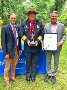 Billy Boniface - Hopkins Good Scout Award